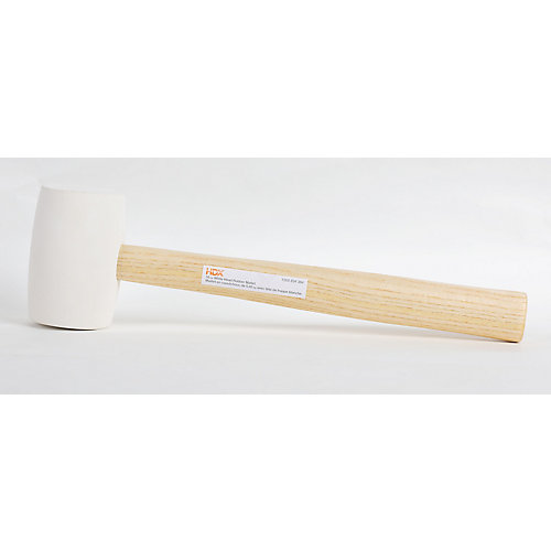 16oz White Rubber Mallet