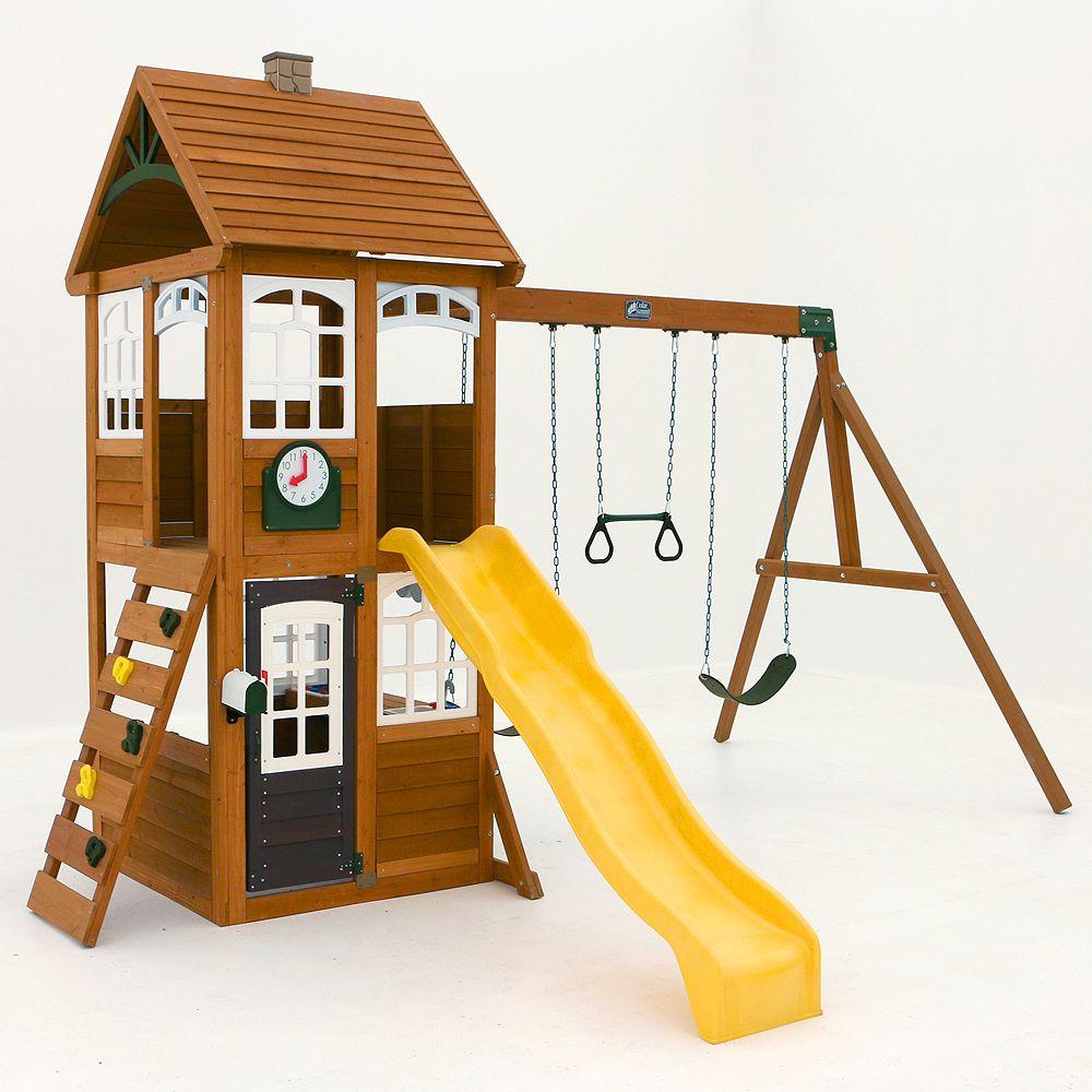 Cedar Summit McKinley Wooden Playset
