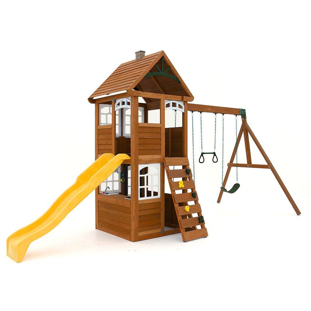 Cedar Summit Centre de jeu en bois / balançoire Willowbrook
