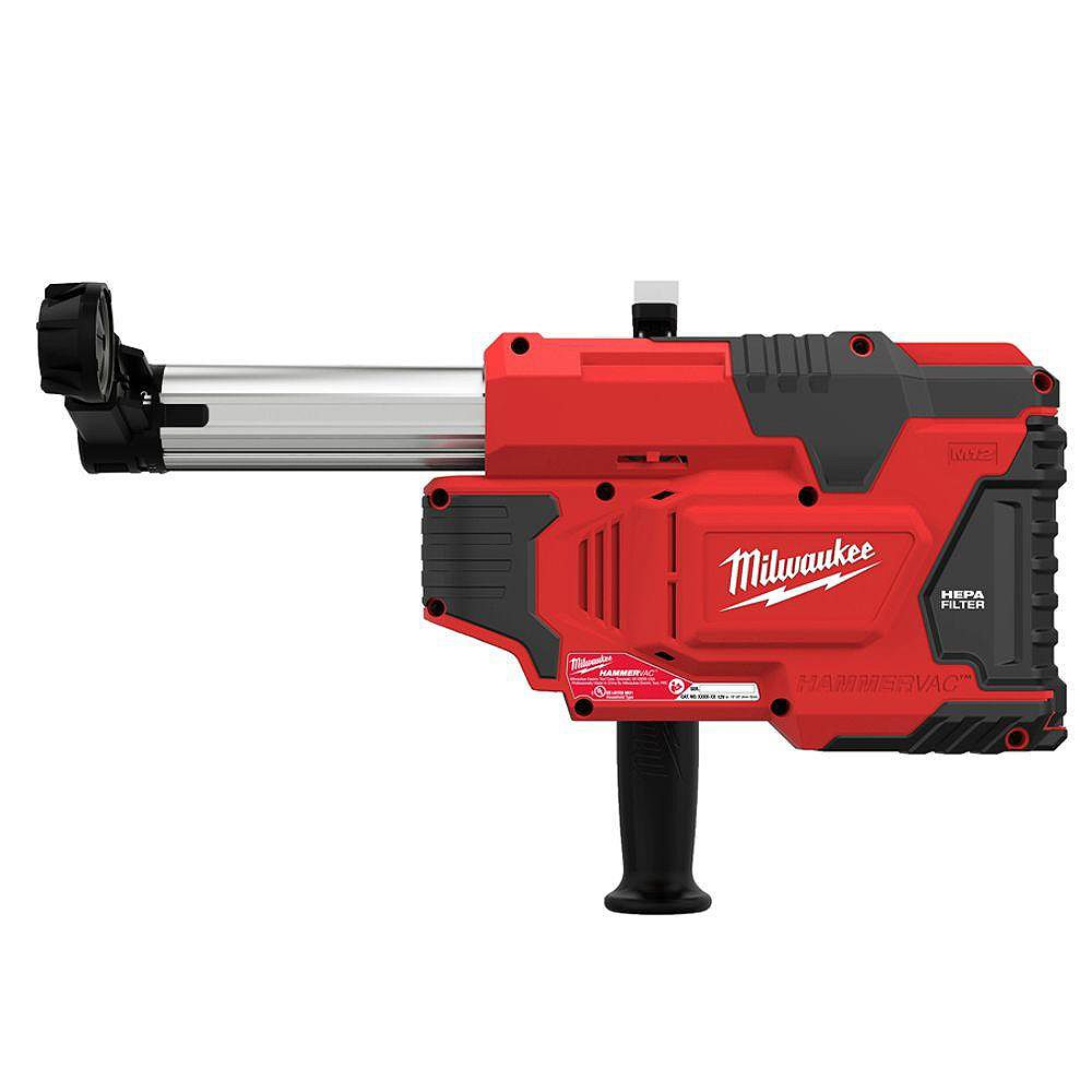 Milwaukee Tool M12 12V Lithium-Ion sans fil HammerVac Universal Dust Extractor (outil seulement)