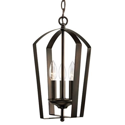 Progress Lighting Gather Collection 4-light Antique Bronze Foyer Pendant