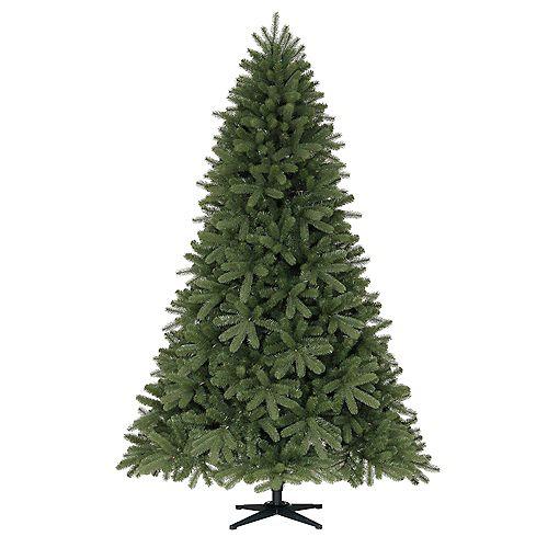 7.5 ft. Unlit Downswept Dennison Pine Artificial Christmas Tree