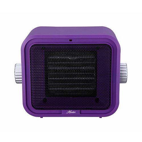 Ceramic Retro Heater Purple