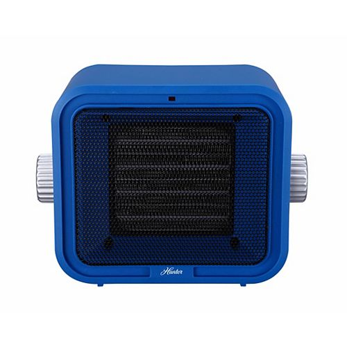 Ceramic Retro Heater Blue