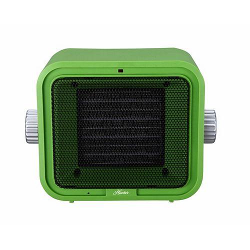 Ceramic Retro Heater Green
