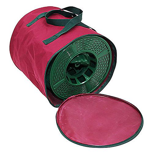 Bobines de rangement large pour guirlandes avec sac, 4 unités