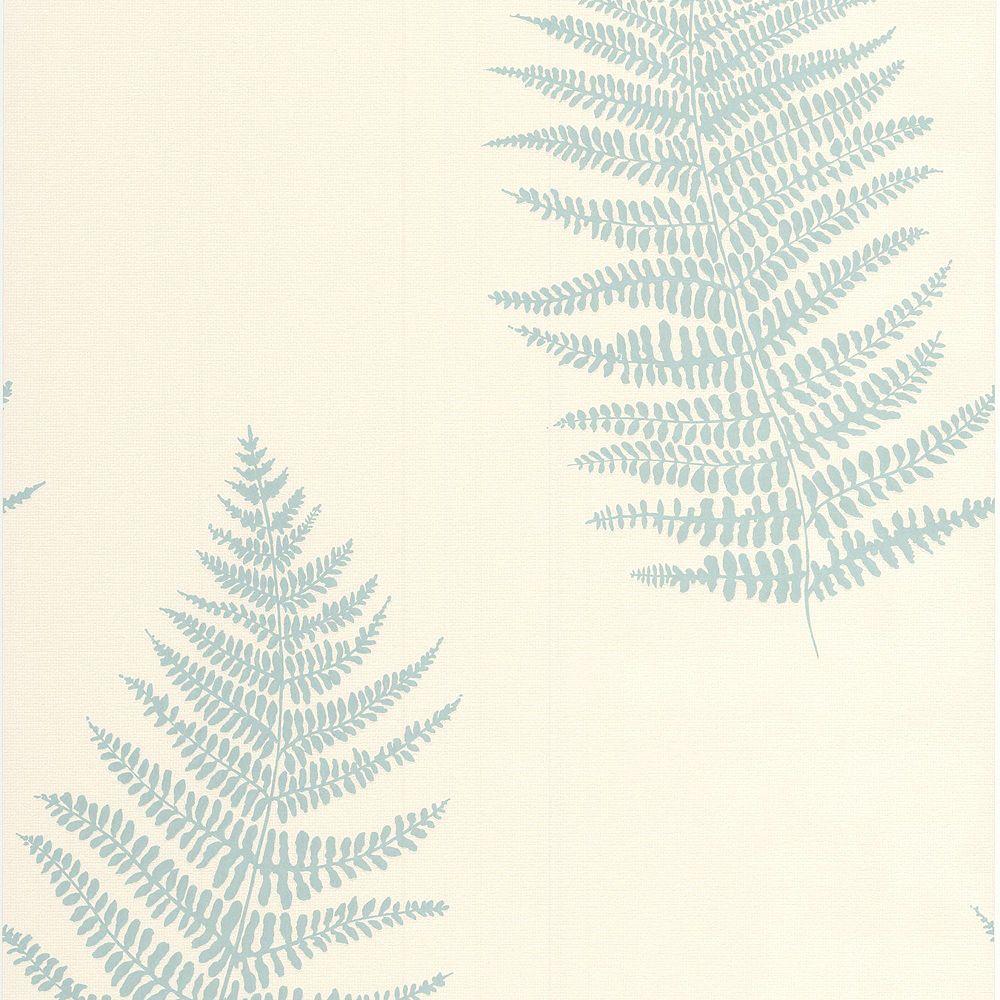 Graham & Brown Verdant Teal/Cream Wallpaper