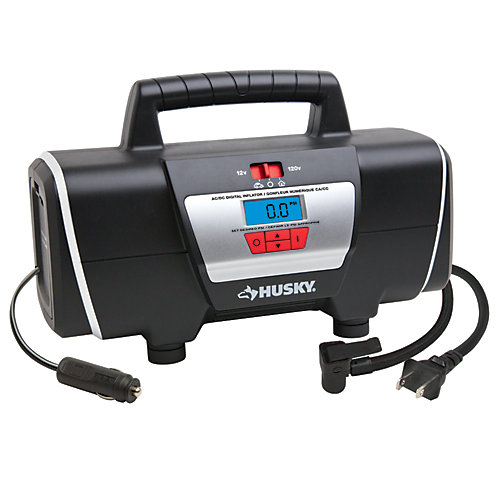 12/120 Volt Auto and Home Inflator