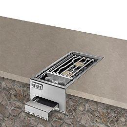 Le brûleur latéral double encastré