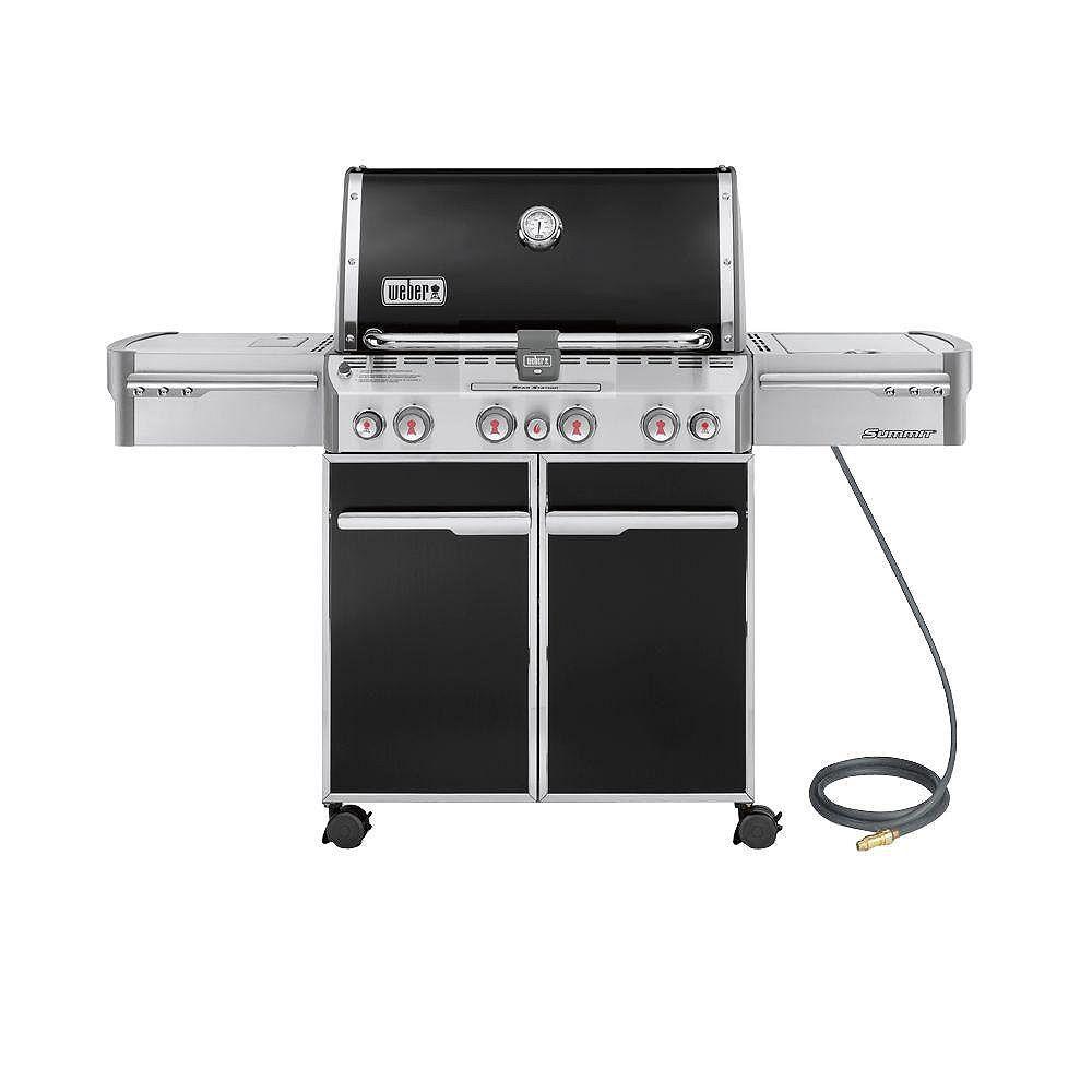 Weber Barbecue au gaz Summit E-470 - Noir