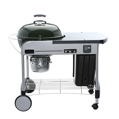 Performer Premium 22-inch Charcoal BBQ in Green
