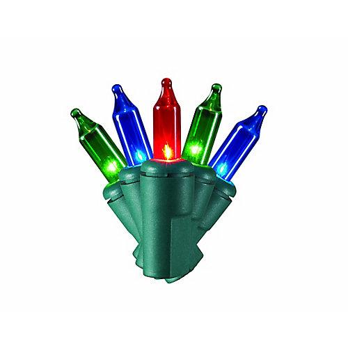 150-Light Multi-Colour 8-Function Mini Christmas Lights