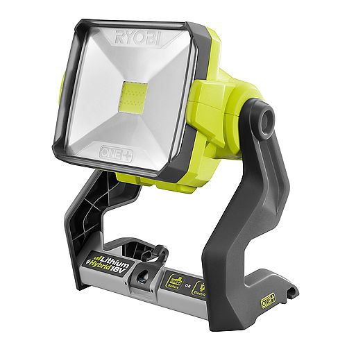 RYOBI 18V ONE+ Hybrid 20-Watt LED Work Light (Tool-Only)