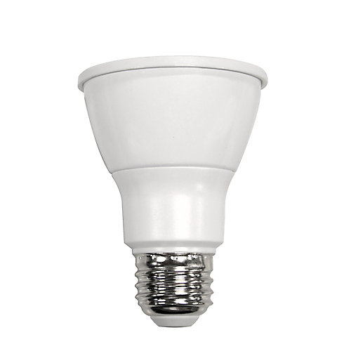 Connected 50W Equivalent Bright White (3000K) PAR20 Dimmable LED Flood Light Bulb