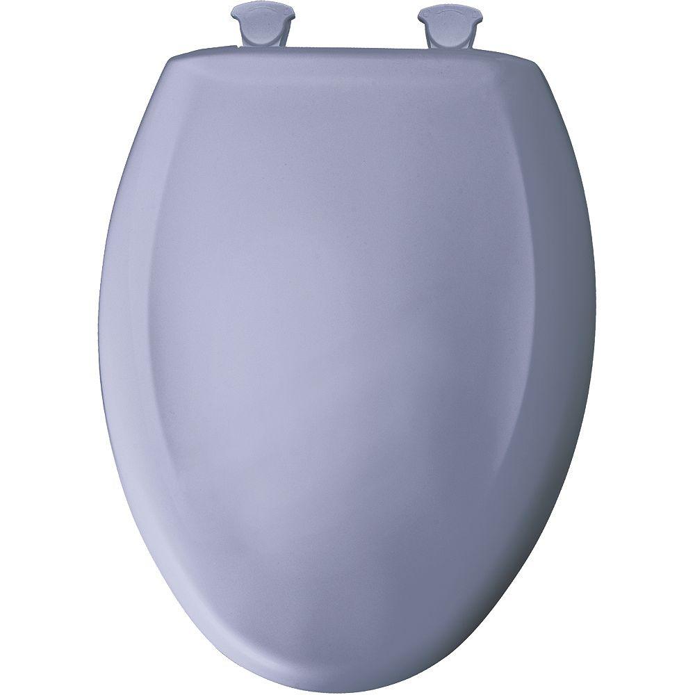Bemis Siège de Toilette Allongé en Plastique avec charnière Whisper,Close avec Easy,Clean & Change et STA-TITE -Lumiére du jour
