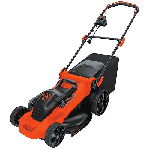20-inch 13 amp Corded Electric Walk-Behind Push Lawn Mower