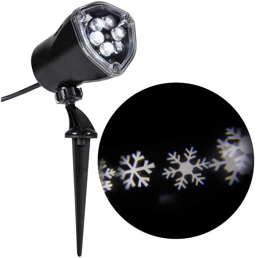 LightShow Projection-Snowflurry
