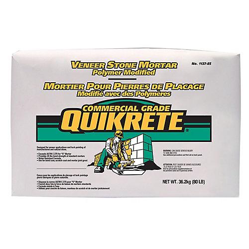 36kg Quikrete Poly Modified Stone Veneer Mortar