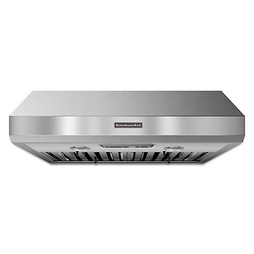 30-inch, 600 CFM Commercial Style Range Hood in Stainless Steel