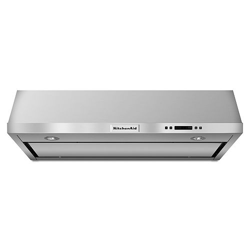 36-inch Under Cabinet Range Hood in Stainless Steel