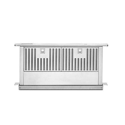 30-inch Retractable Downdraft System in Stainless Steel