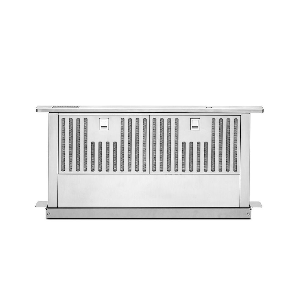 KitchenAid 30-inch Retractable Downdraft System in Stainless Steel