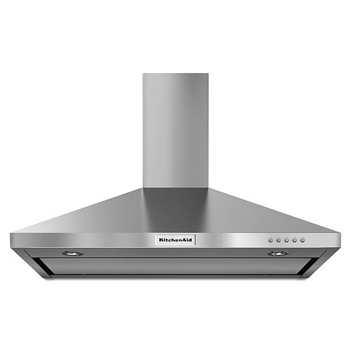 36-inch Wall Mount Range Hood in Stainless Steel