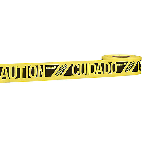 Reinforced Caution Tape 500 Feet