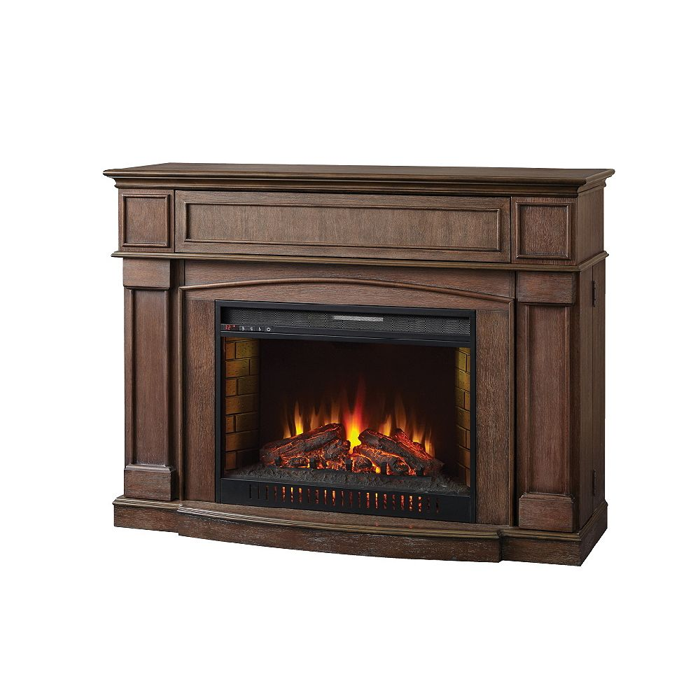 Home Decorators Collection Marlene 56 Inch Infrared Electric Fireplace Mantel
