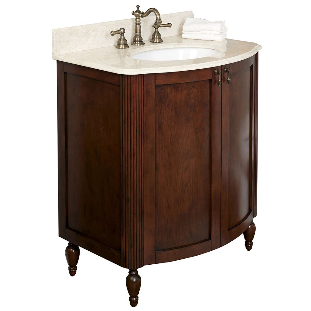 American Imaginations 32-inch W Vanity in White