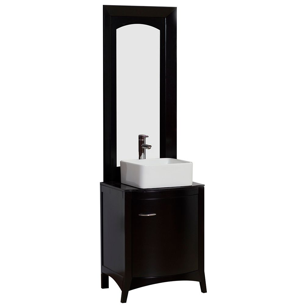 American Imaginations 22-inch W Vanity in Black - AI-3-1175