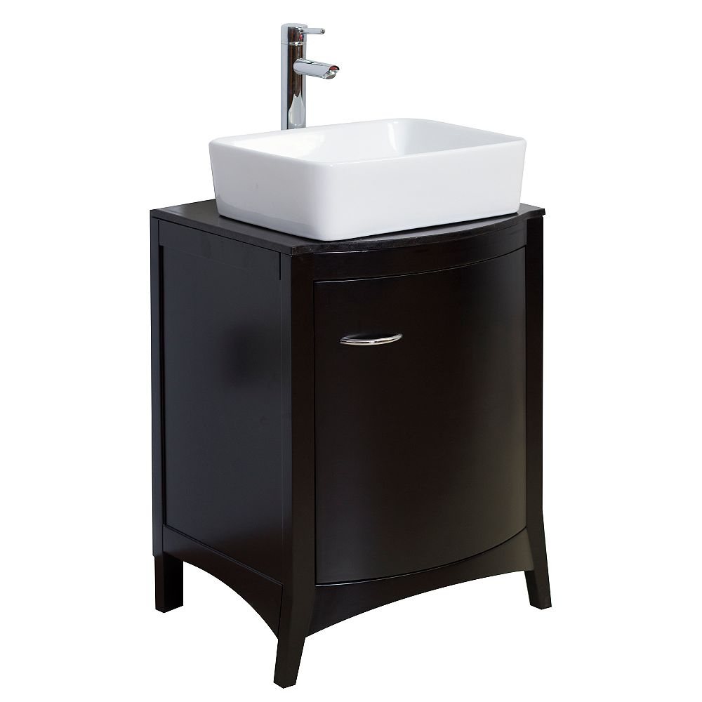 American Imaginations 22-inch W Vanity in Black - AI-2-1176
