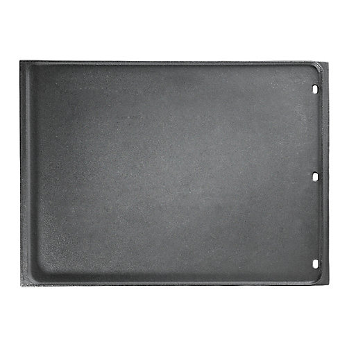 Cast Iron Reversible Griddle for Large BBQs