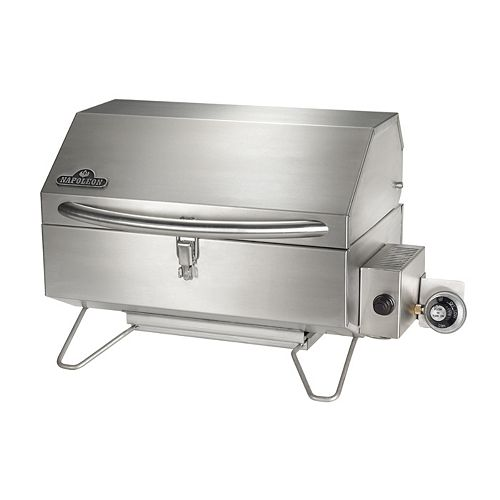 Freestyle Portable BBQ in Stainless Steel
