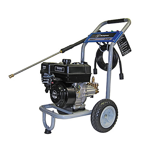 3000 PSI, 2.8 GPM, 208cc OHV Gas Powered Pressure Washer- CARB Compliant