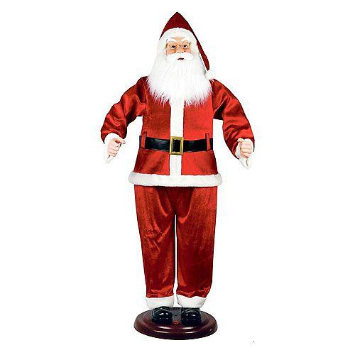 Père Noël dansant animé, 72 po