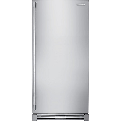 32-inch W 18.5 cu. ft. Freezerless Refrigerator in Stainless Steel, Counter Depth