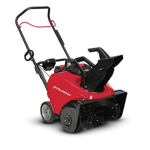 7.5 TP Single Stage Gas Snowblower with 22-inch Clearing Width