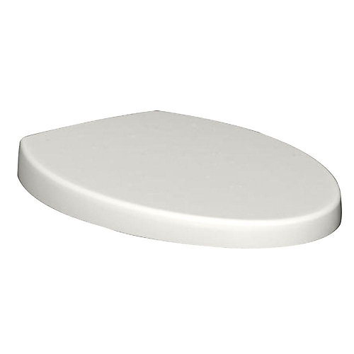 Champion Top Mount Telescoping Slow Close EverClean Elongated Closed Front Toilet Seat in White