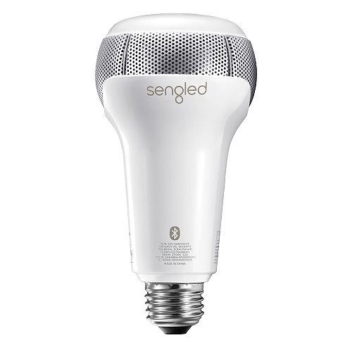 Pulse Solo – Lampe LED réglable en intensité avec haut-parleurs stéréo Bluetooth