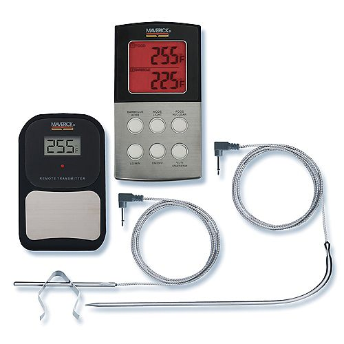Digital Remote Thermometer with 2-High Heat Probes
