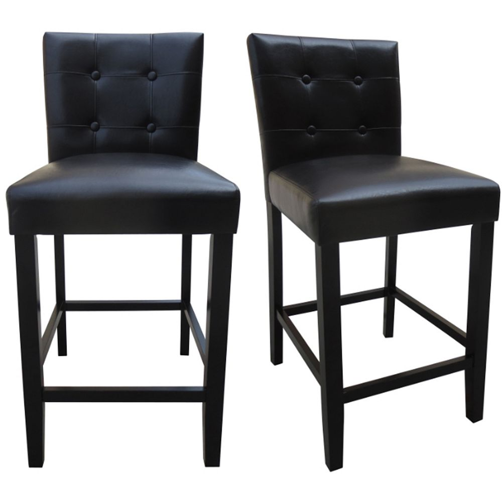 DURAWOOD 2 PK 25 inch Counter Height Parson Chair