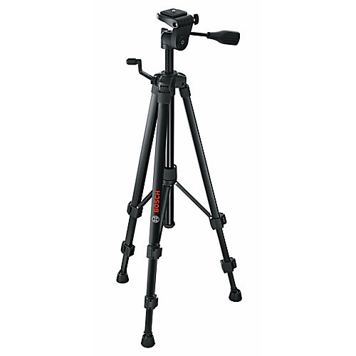 Compact Tripod with Extendable Height for Use with  Line and Point Lasers and Laser Measures