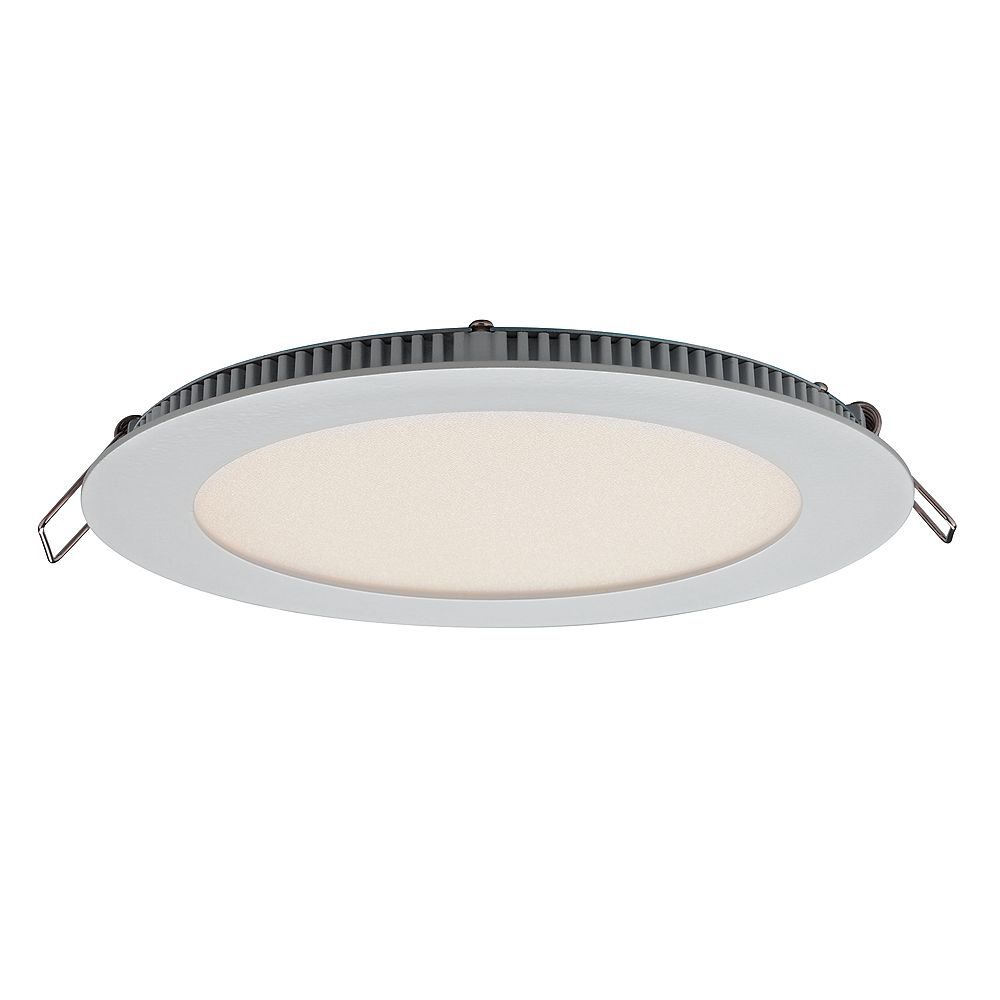 Illume Ultraslim 6-inch Recessed Round LED Panel Light - ENERGY STAR®