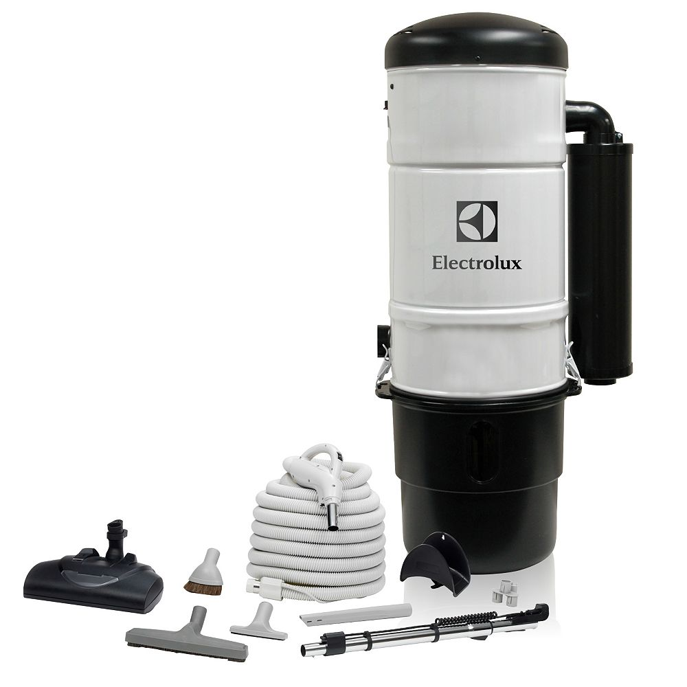 Nuera Air 600 Air Watt Central Vacuum with Superior Carpet Cleaning Set
