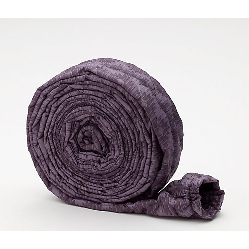Quilted Hose Sock with Zipper