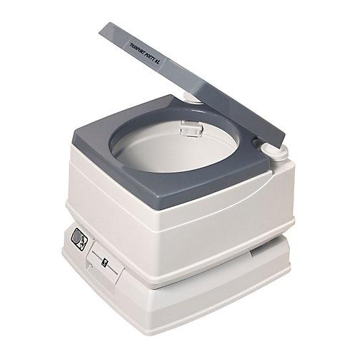 Toilette Visa Potty, 24 litres, gris