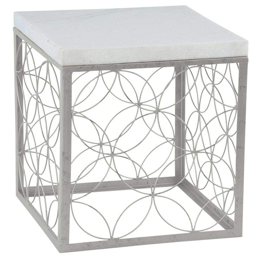 !nspire Tierra-Accent Table-Antique Silver