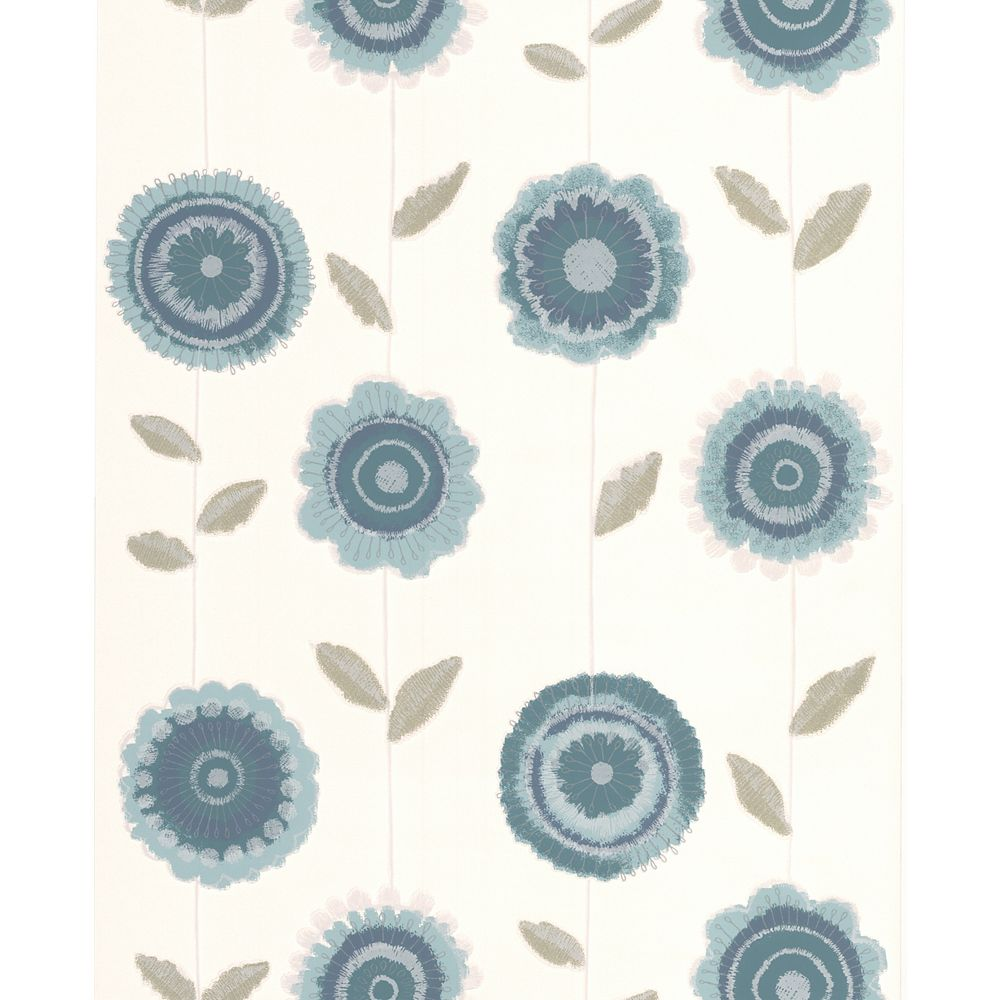 Superfresco Radiance Teal Wallpaper Sample