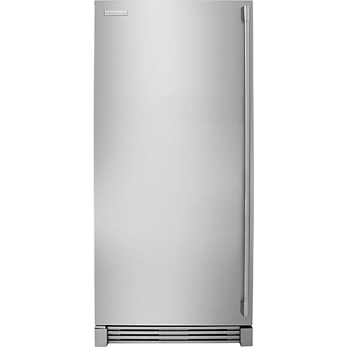 32-inch W  18.6 cu. ft. Built-in All Freezer in Stainless Steel